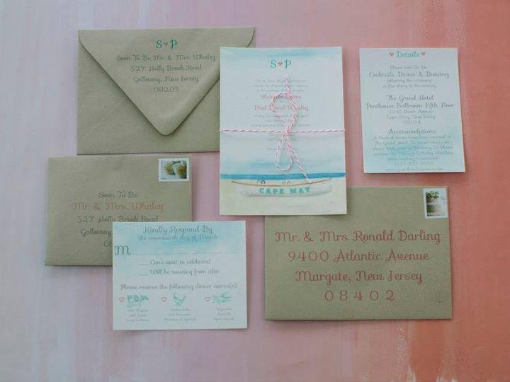Tmx 1452098696921 1034900010384483795186001233450563124121602n Egg Harbor Township, NJ wedding invitation