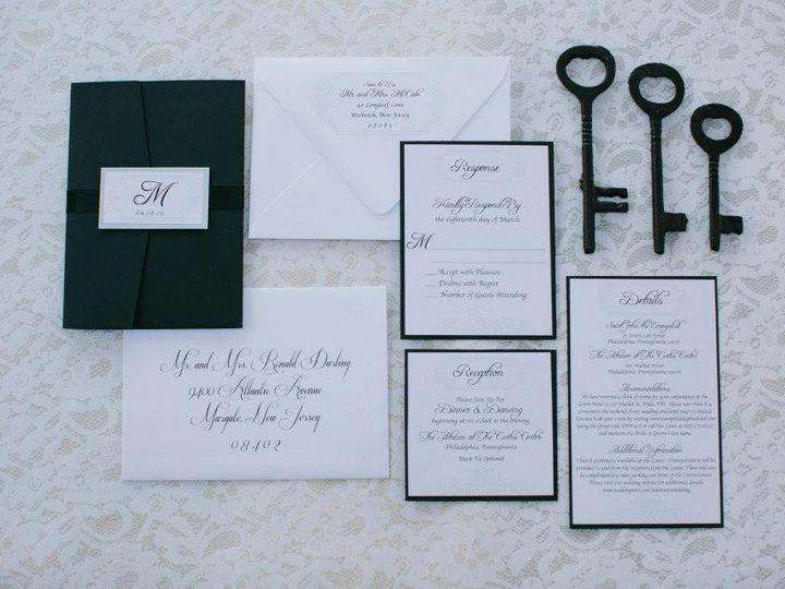 Tmx 1452098711941 109873081038448466185258609337861851574746n Egg Harbor Township, NJ wedding invitation