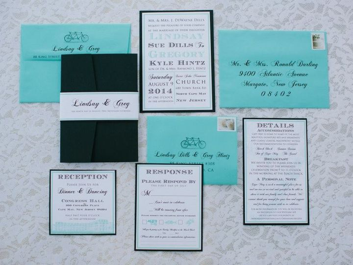 Tmx 1452098720963 1108430210384484728519249077289687477107742n Egg Harbor Township, NJ wedding invitation