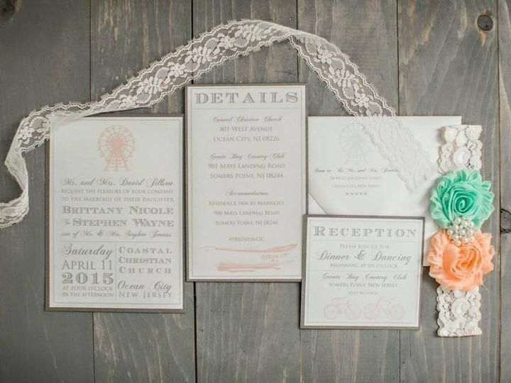 Tmx 1452098775251 1153604310738538226447228187872070513414419n Egg Harbor Township, NJ wedding invitation