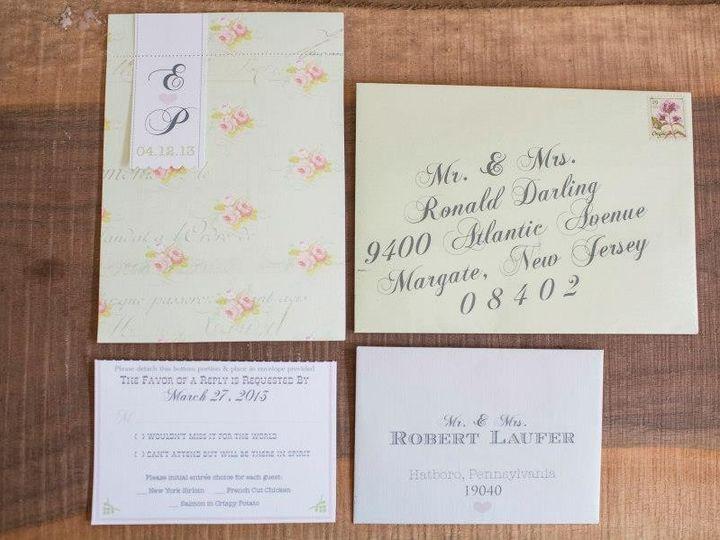 Tmx 1452099075320 9700626542216979412721524274813n Egg Harbor Township, NJ wedding invitation