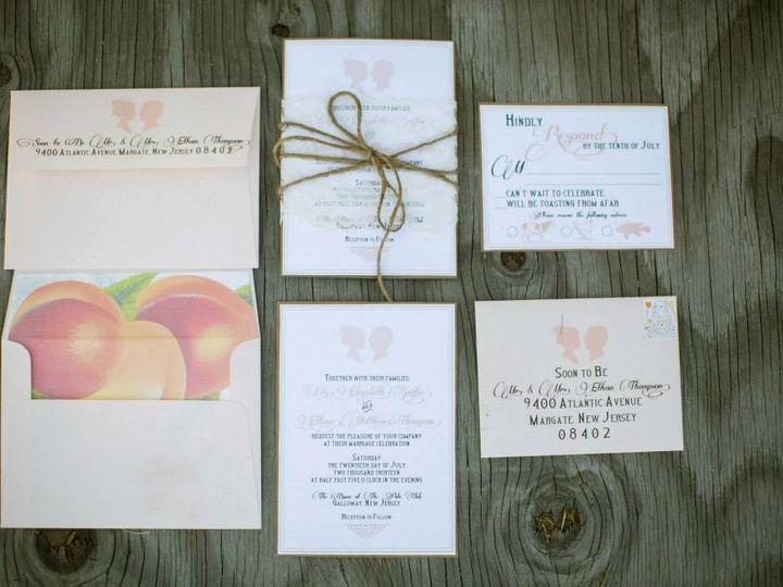 Tmx 1452099093013 4476415484025419352008387657n Egg Harbor Township, NJ wedding invitation