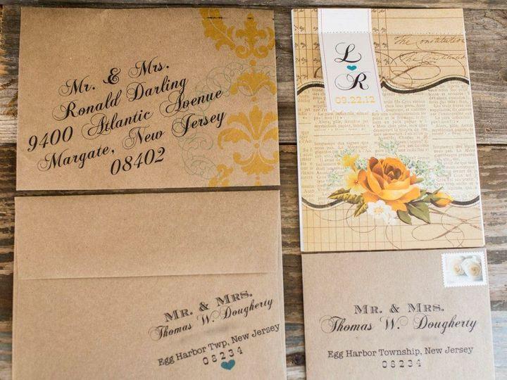 Tmx 1452099108994 10441826542216146079471050148256n Egg Harbor Township, NJ wedding invitation