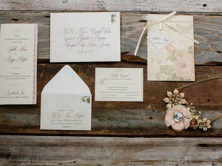 Tmx 1452099144462 17798807913327108968361827374521n Egg Harbor Township, NJ wedding invitation