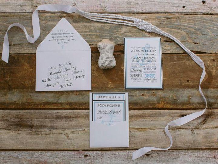 Tmx 1452099152013 1794583791333047563469998570728n Egg Harbor Township, NJ wedding invitation