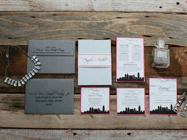 Tmx 1452099162239 17792657913327542301651436319715n Egg Harbor Township, NJ wedding invitation
