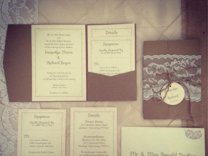 Tmx 1452099239304 10268615997356063627832449015022740781578n Egg Harbor Township, NJ wedding invitation