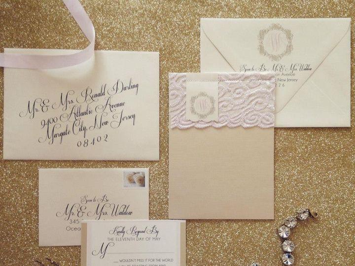 Tmx 1452099266362 103535569973802102920843363883277768092443n Egg Harbor Township, NJ wedding invitation