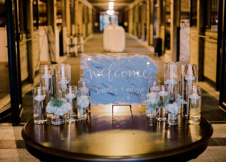 Welcome table | Lindsey Cash Photography