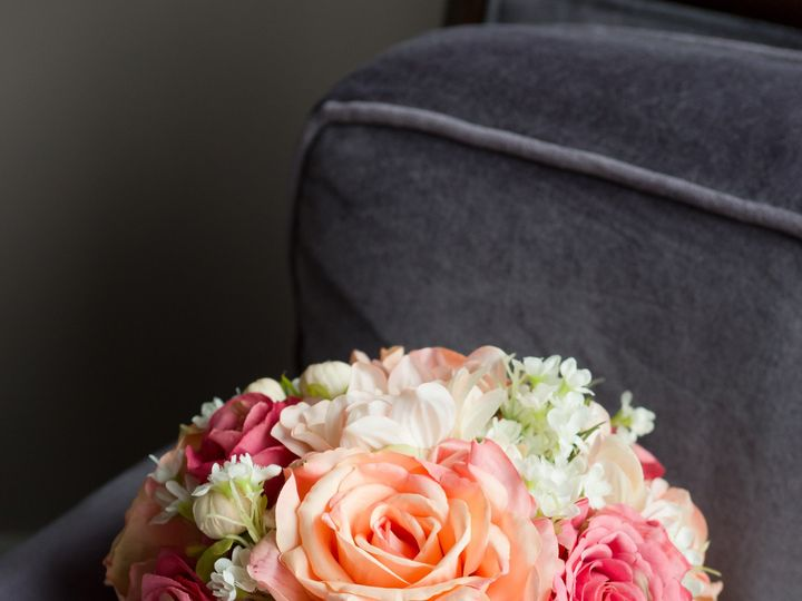 Tmx 1454638010929 Kelly Coral Wedding Bouquet Wayne wedding florist