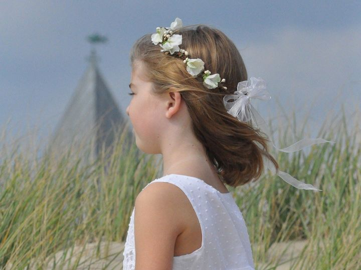 Tmx 1454638200854 Megan Etsy Beach Flower Girl Wayne wedding florist