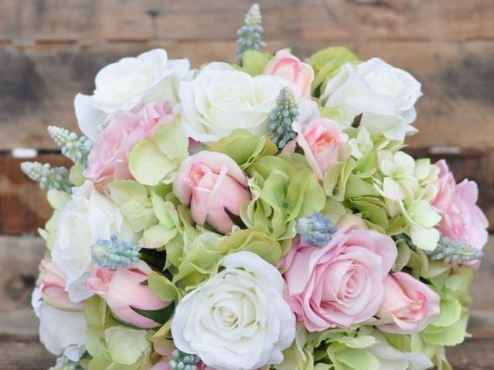 Tmx 1454789264515 Blue Hyacinth Cream Rose Pink Rose Green Hydrangea Wayne wedding florist