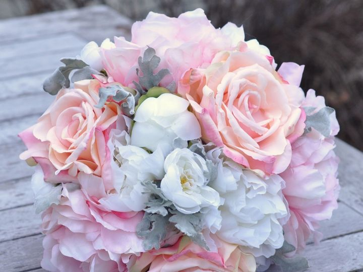 Tmx 1454789381073 Dusty Miller Pink Rose Ranunculus Peony   1 Wayne wedding florist