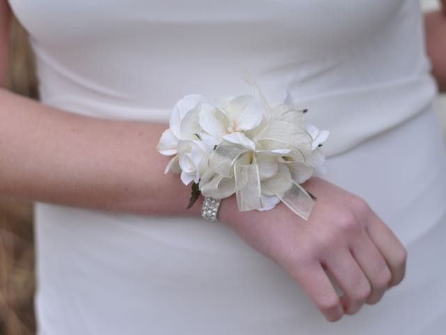 Tmx 1454790265811 Ivory Rose And Hydrangea Rhinestone Corsage   1 Wayne wedding florist