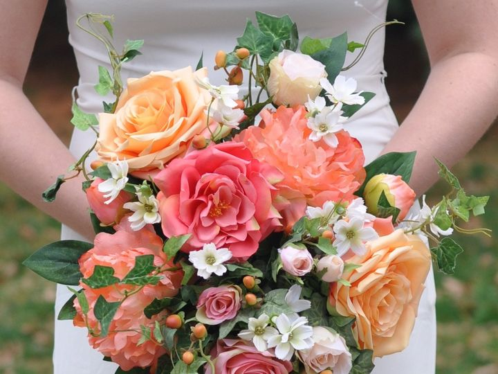 Tmx 1454790420842 Coral Bouquet Instagram   1 Wayne wedding florist