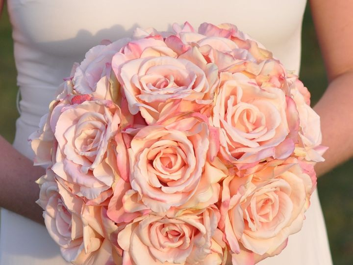Tmx 1454790547233 Blush Pink Rose Bouquet   1 1 Wayne wedding florist