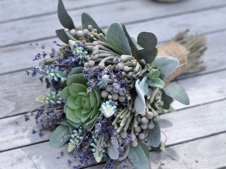 Tmx 1454792317700 Succulent Dried Lavender Bouquet   1 Wayne wedding florist