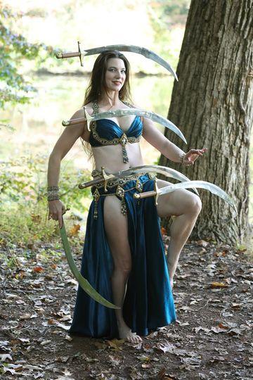 Sword balancing
