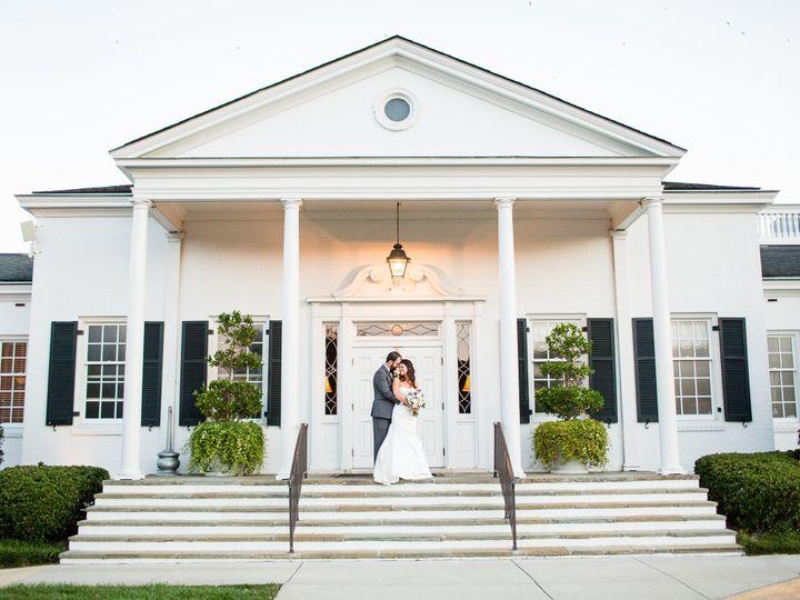 Tmx 1455737958359 Cristi Ryan Wedding Bride Groom Clubhouse Front Greensboro, NC wedding venue