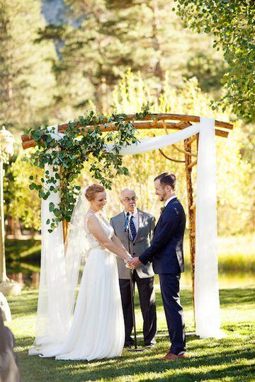 Wedding cereomony