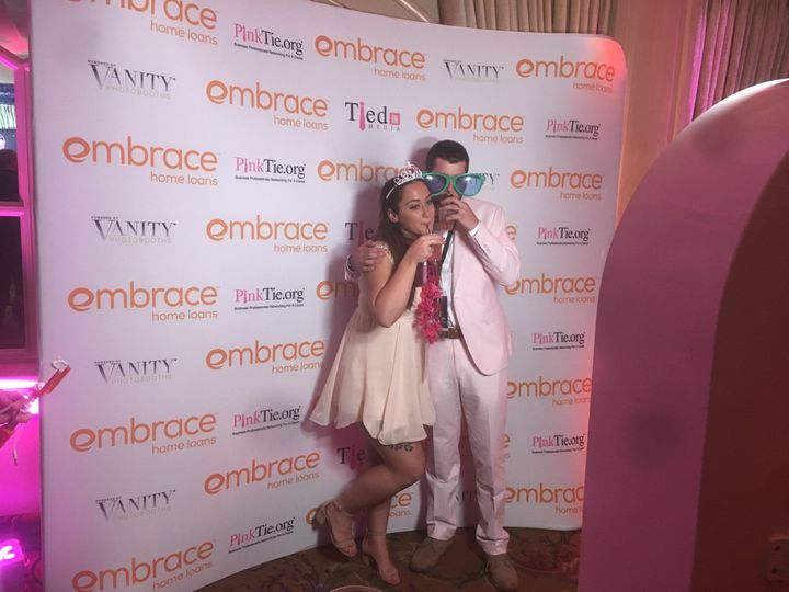 Props for the photo booth