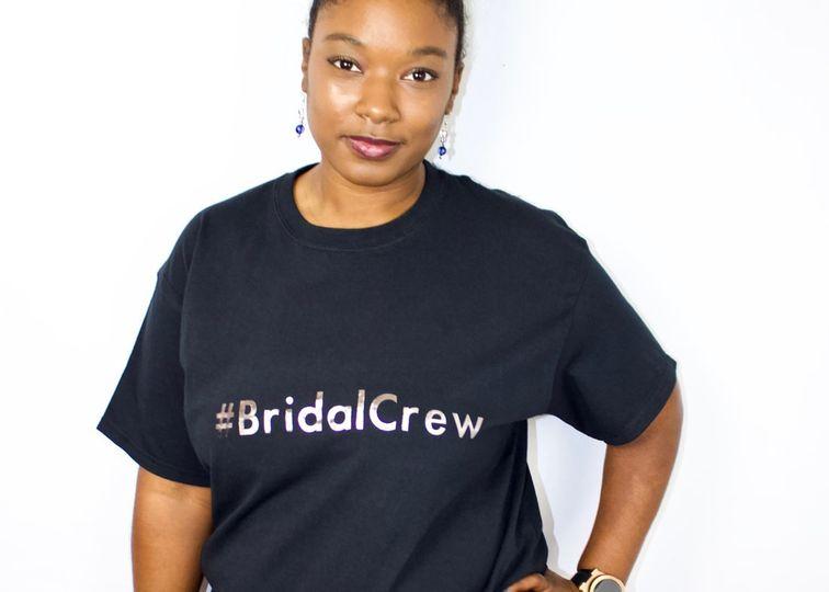 Bridal crew shirt