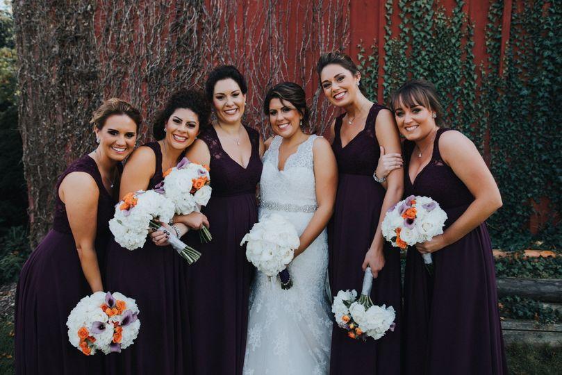brittney holland bridal party