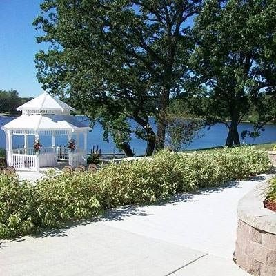 Gazebo Overlooks Private Lake