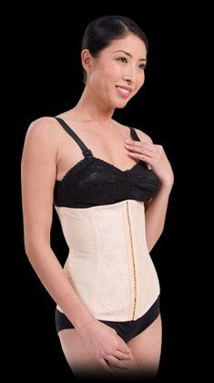 Corset Golden- Reduces waist up to 2 sizes, targets back, torso, and abdomen areas with strapless a...