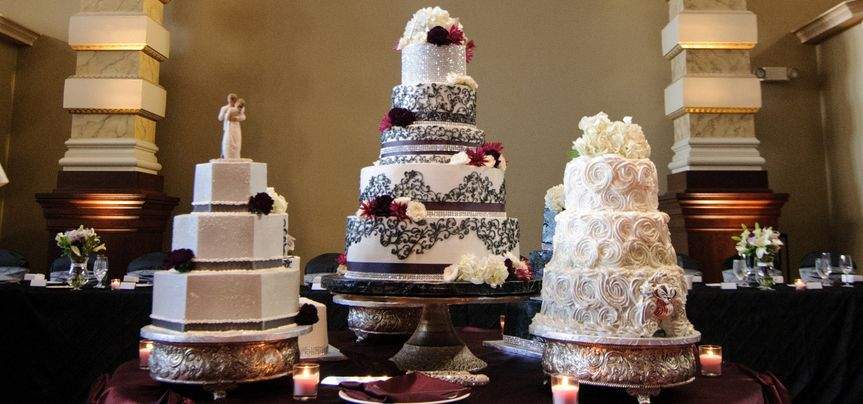 Sample wedding cakes