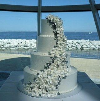 Tmx 1415977100617 Lakecake Small Milwaukee, Wisconsin wedding cake