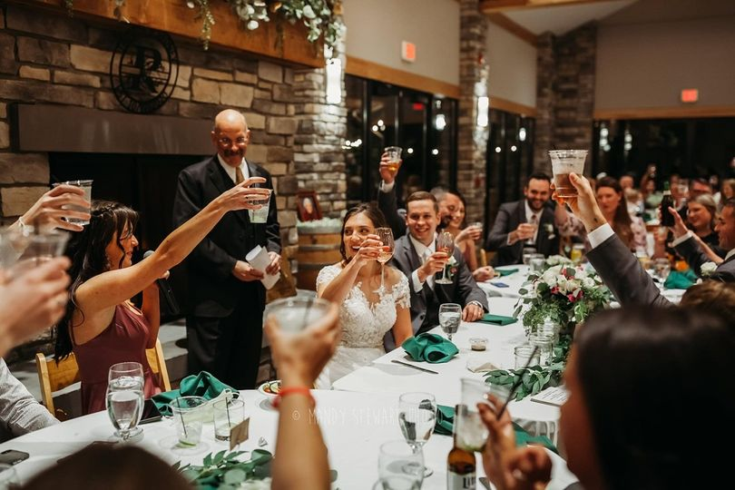 Raise a toast