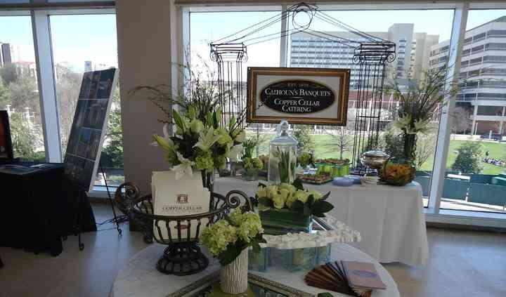 Calhoun's Banquets ~ Copper Cellar Catering