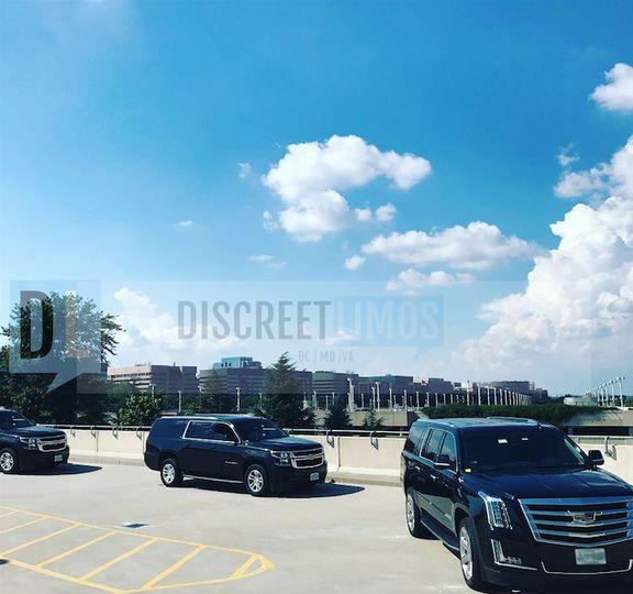Fleet of SUVs