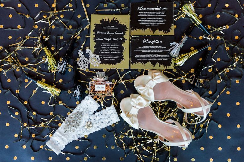 NYE Wedding Accessories