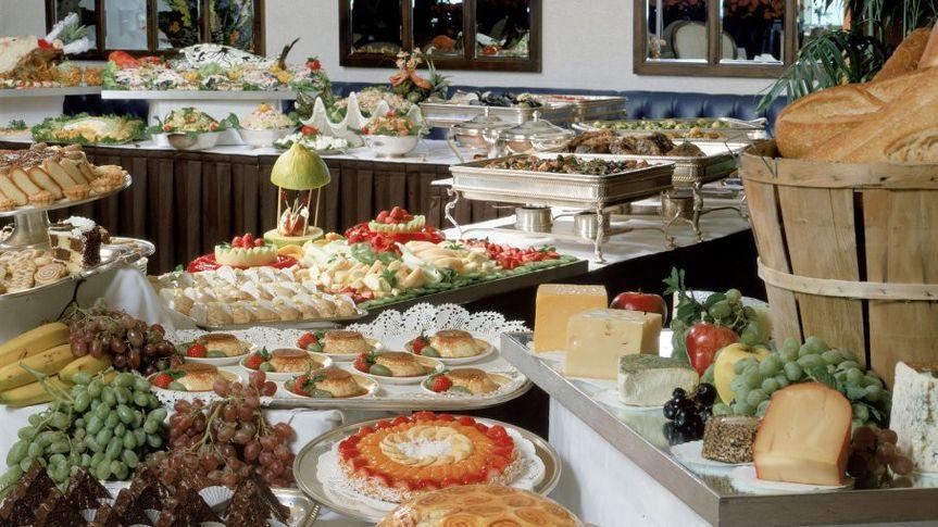 Large buffet