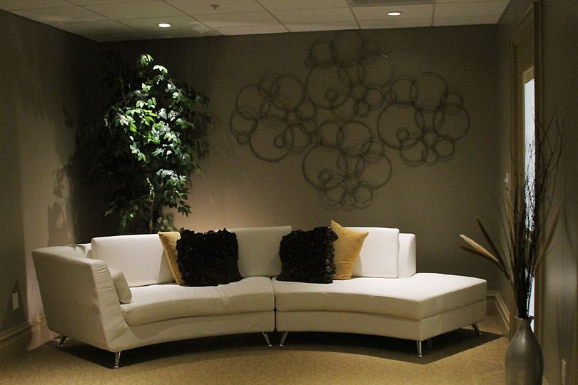 Cream couches