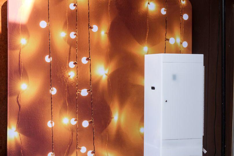 Bistro Lights (Backdrop)