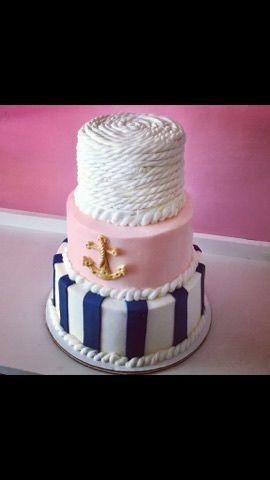 Tmx 1516270537 273a7293bb2cba80 1516270536 68a6263e6d213381 1516270538551 3 Nautical Cake Contoocook wedding cake