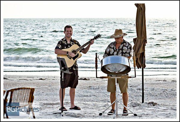 Completely Unplugged Beach Wedding