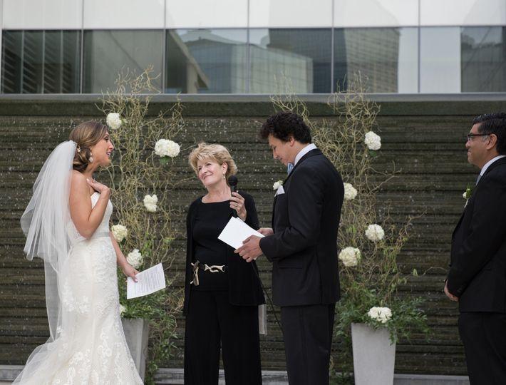 Couples' interfaith vows
