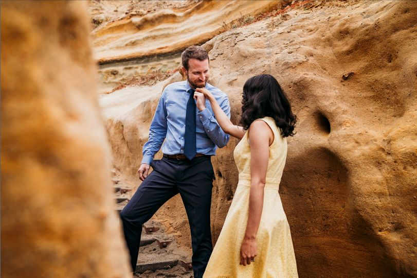 Torrey Pines Engagement Sessio