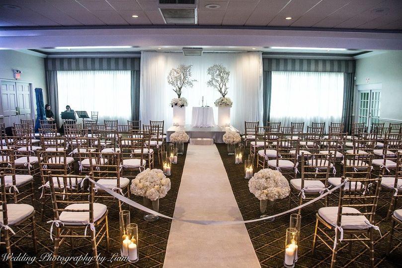 Wedding crermony area