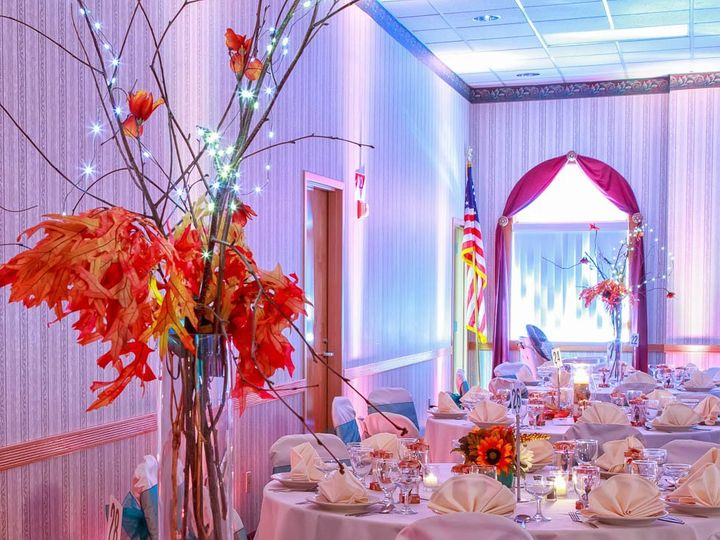 Tmx 1357243107592 AniaGM6closeuptreecenterpiece South Hadley, MA wedding planner