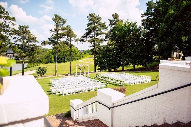 Outdoor wedding space