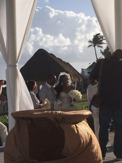 Destination Wedding at Paradisus Cancun Resort - 2015