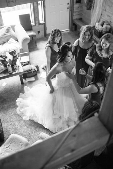 Girdwood AK Wedding