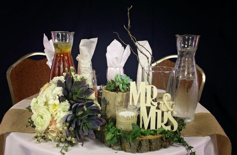 Table for the newlyweds