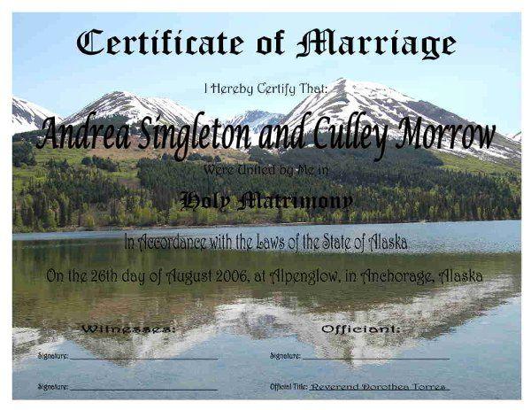 Certificate # 38