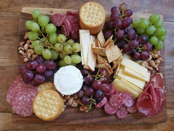 Farmers market cheese platter